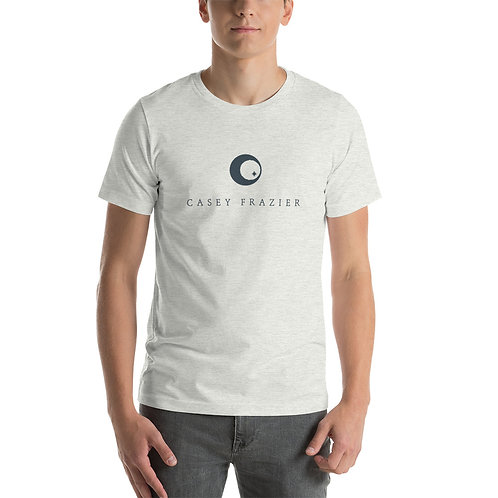 T-Shirt with Blue Logo