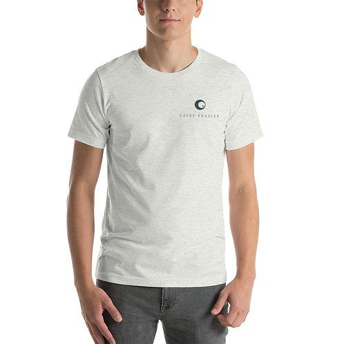 T-Shirt with Blue Pocket Logo