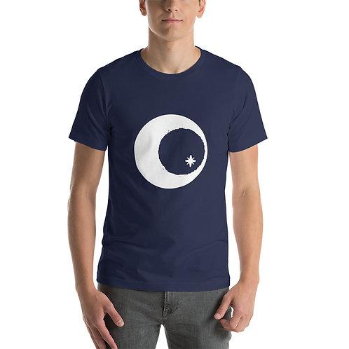 T-Shirt with Large White Logo