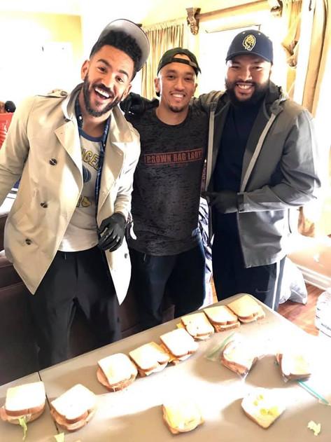 Miles and his crew. My nephews.❤️