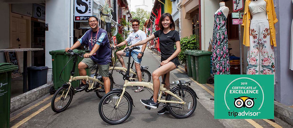 Bicycle tour singapore