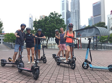 Expatriate orientation with Escooter by City Scoot