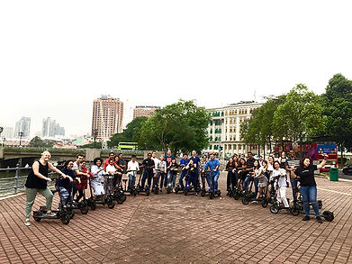 Corporate Escooter Event by City Scoot