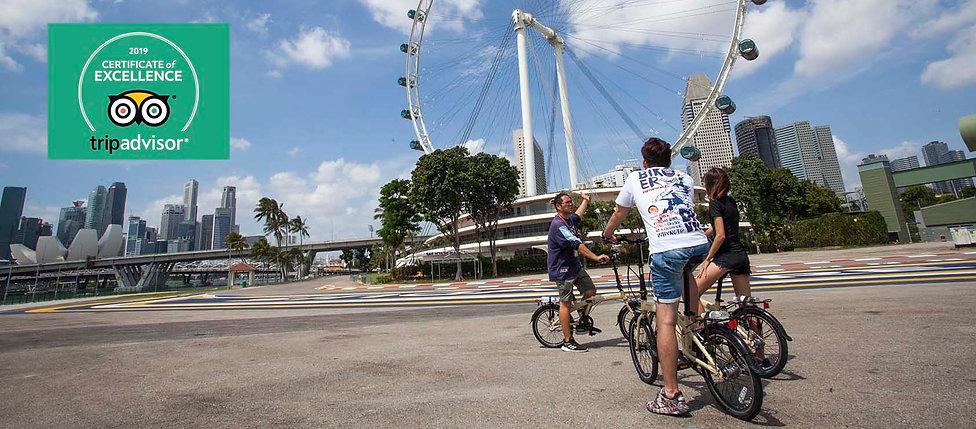 Singapore bicycle tour