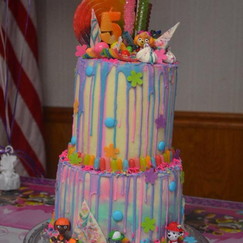 "A ""Big Girl"" Cake"