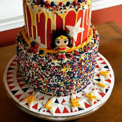 Wonder-ful Sprinkle Cake