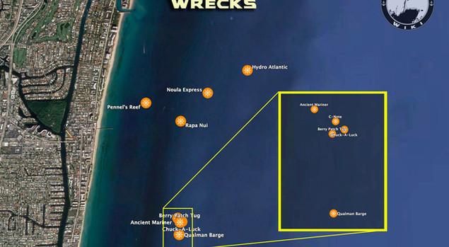 Boca Inlet Wrecks