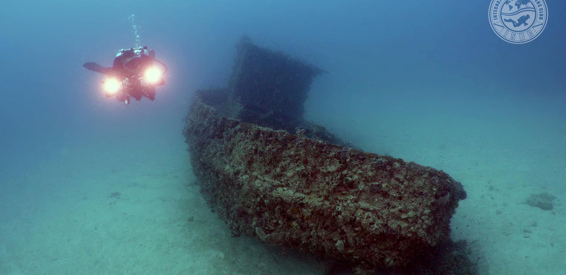 Marcelo on the Carmen Wreck