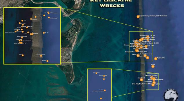 Key biscayne Wrecks
