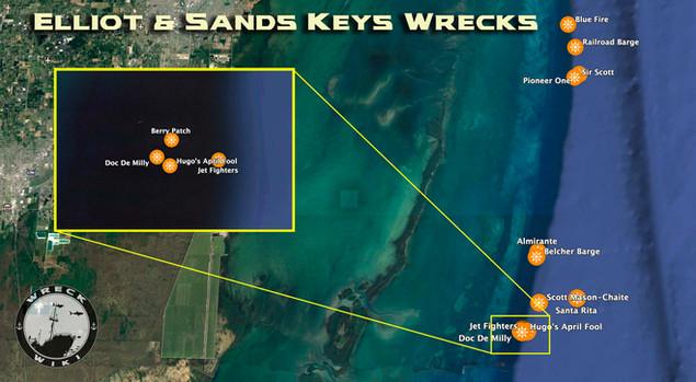 Elliot Key Wrecks