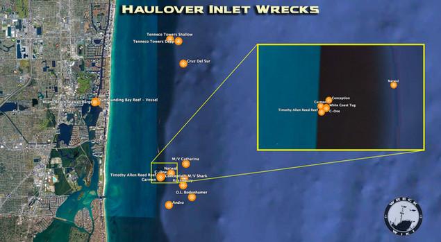 Haulover Wrecks