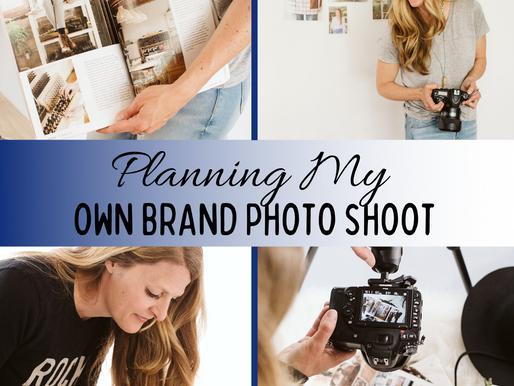 Planning My Own Brand Photo Shoot