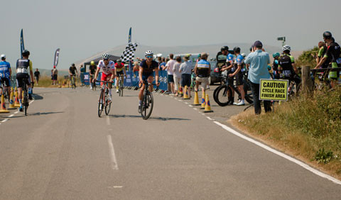 Beachy Head Circuit Finish Line