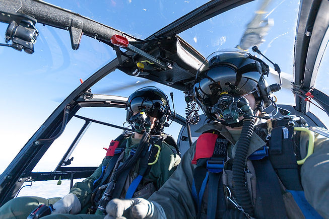 Matt Ward | Helicopter flight test instructor providing airborne flight test technique training