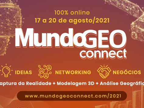 Inscrição Gratuita nos eventos MundoGEO Connect, DroneShow e SpaceBR Show online deste ano!