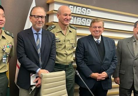 SIMDE e DESEG recebem Chefe do Estado-Maior do Exército