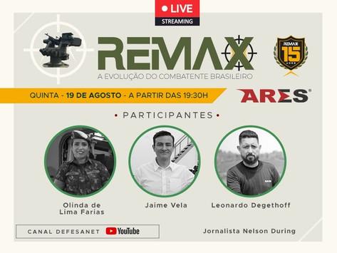 LIVE | REMAX 15 anos – A Evolução do Combatente Brasileiro