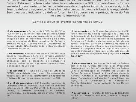 Agenda SIMDE