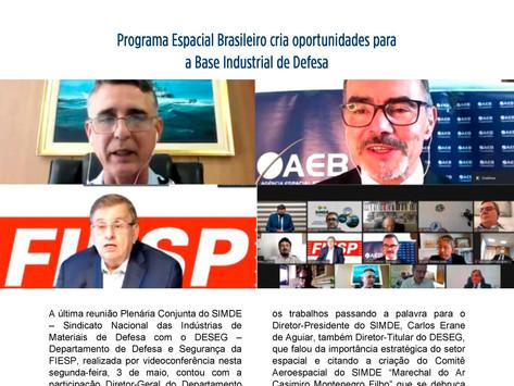 Programa Espacial Brasileiro cria oportunidades para a Base Industrial de Defesa