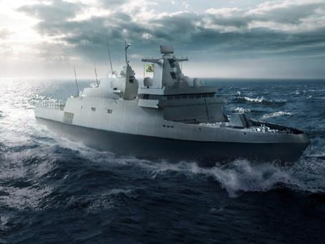 Cluster Tecnológico Naval-RJ busca empresas fornecedoras para fragatas Classe Tamandaré