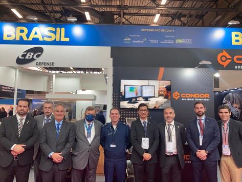Delegação brasileira na Milipol Paris 2021