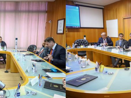 SIMDE se reúne com Ministro da Defesa para tratar de Isonomia Tributária e Regulatória