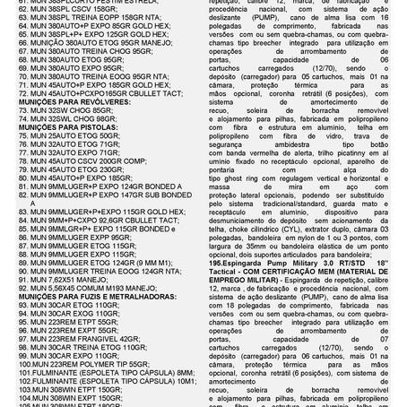 IDE 009/21 - Informativo de Declaração de Exclusividade