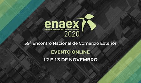 ENAEX 2020 [12 e 13/11] - 39º Encontro Nacional de Comércio Exterior