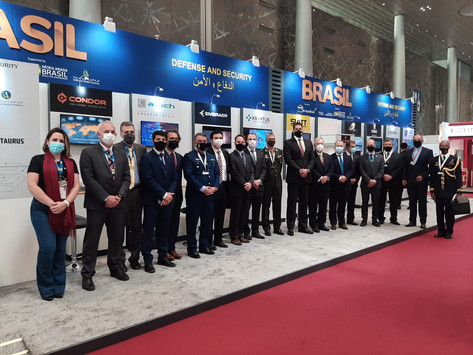 Associadas do SIMDE na Milipol Qatar 2021