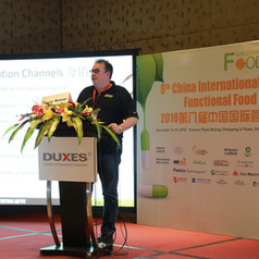 Carey Ramm presented on the growth of the supplement sector in China