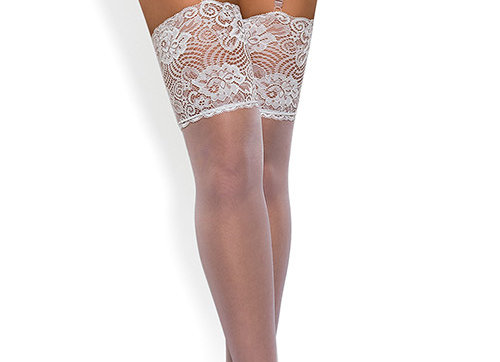 Classique Sheer White Stockings