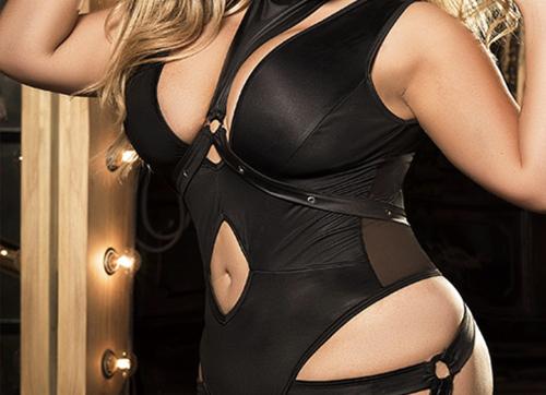 Curve Uncaged Bodysuit With Detachable Harness