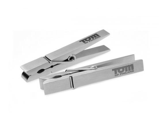 Stainless Steel Nipple Pegs - Tom Of Finland