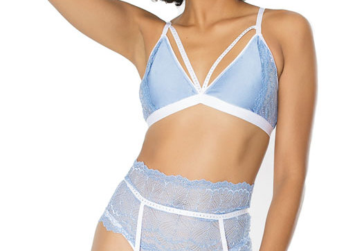 Ever After Bra and Garter Set