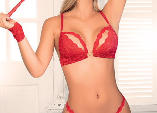 Hidden Pleasures Red Set