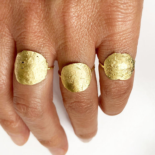 Amulet Coin Rings
