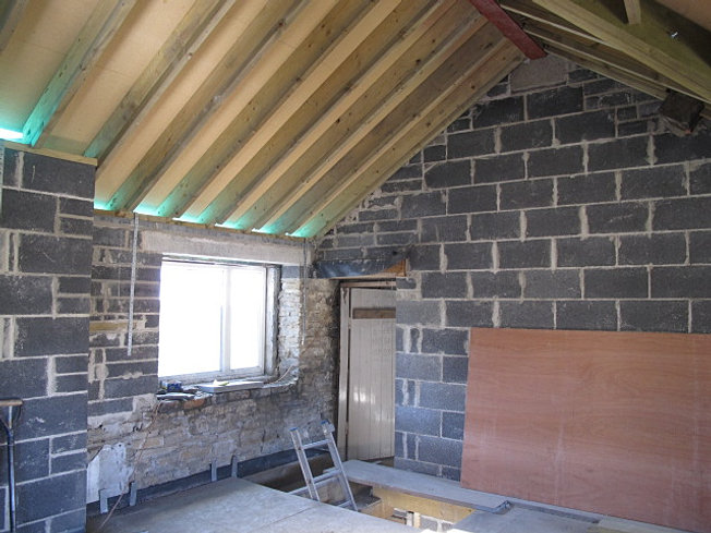Eco Renovation spellboundarts oak minatures west yorkshire | listed eco renovation