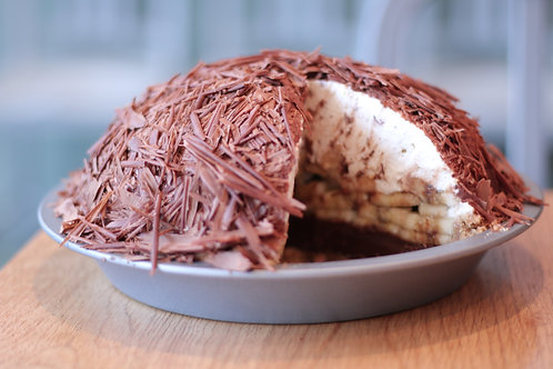 Banana Chocolate Cream Pie