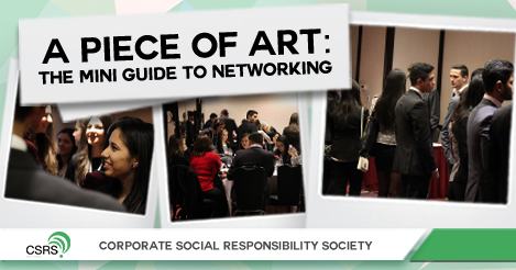 A PIECE OF ART: THE MINI GUIDE TO NETWORKING
