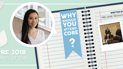 Why Should YOU Attend CORE?
