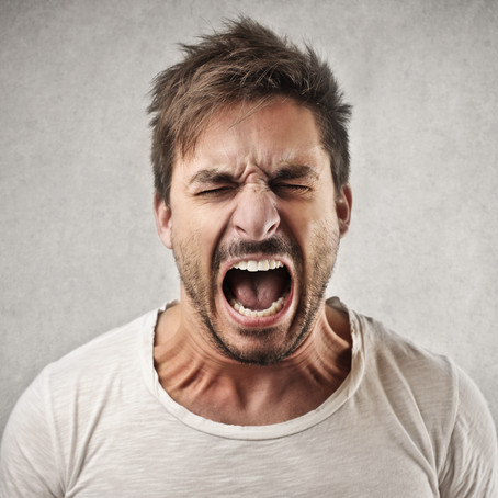Anger seldom choses its victims.