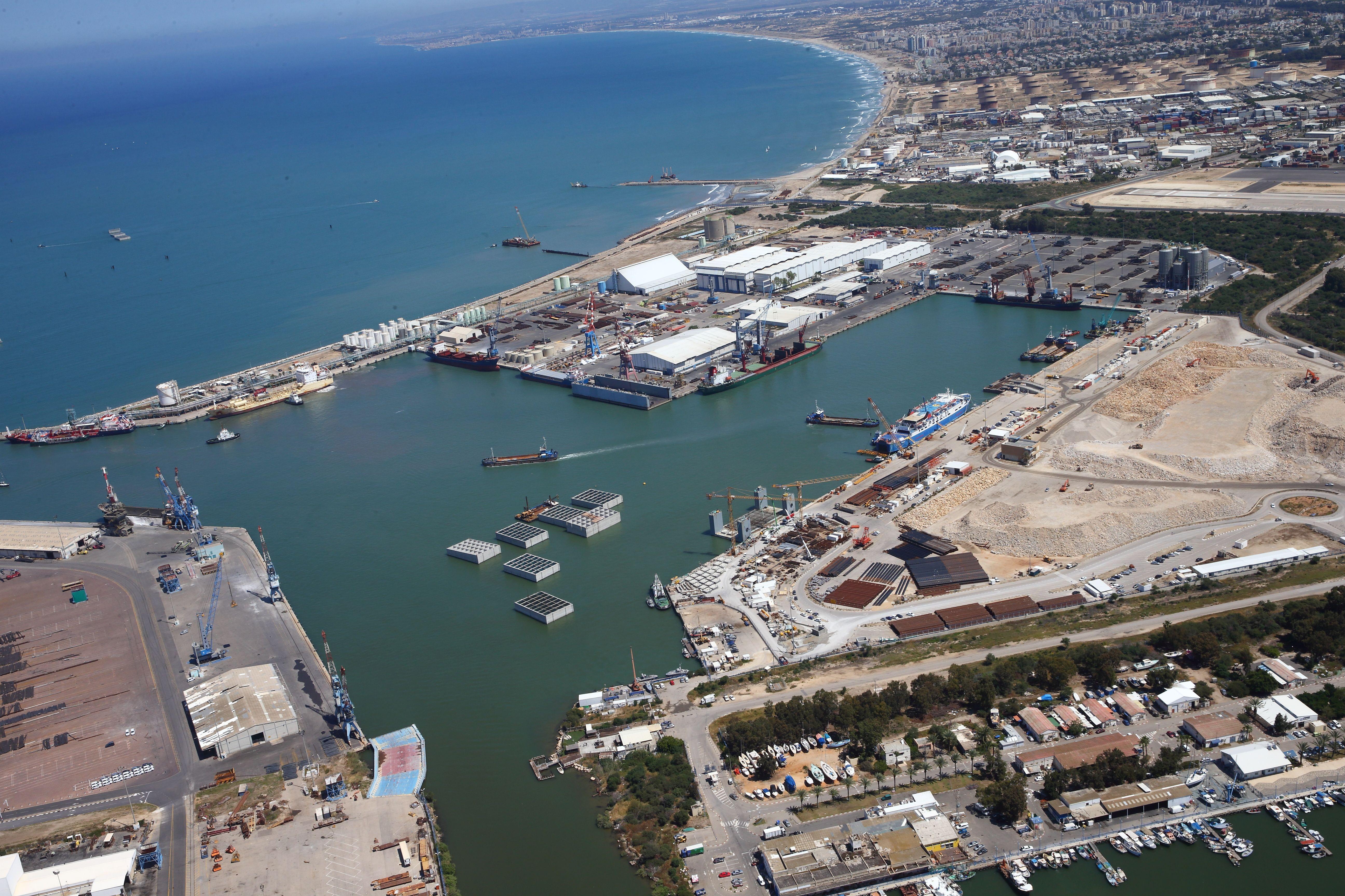 Haifa & HaMifratz ports overview