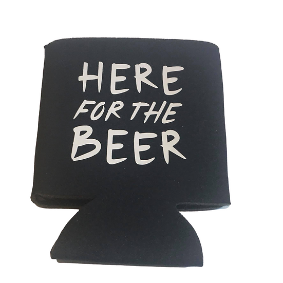 Here for the beer koozie