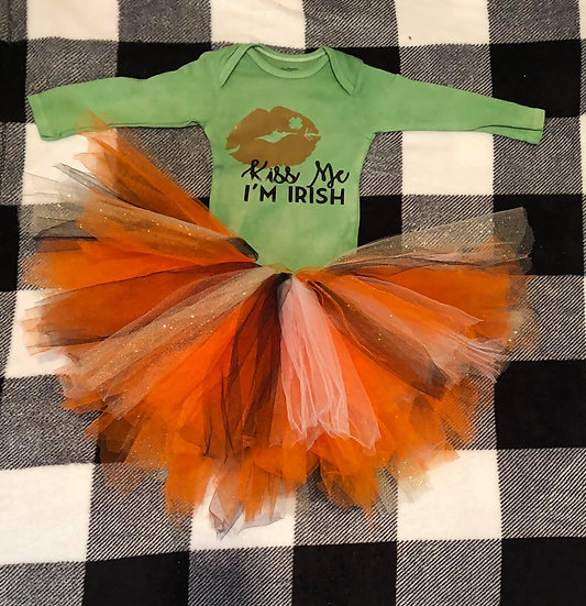 St Patrick day baby onesies