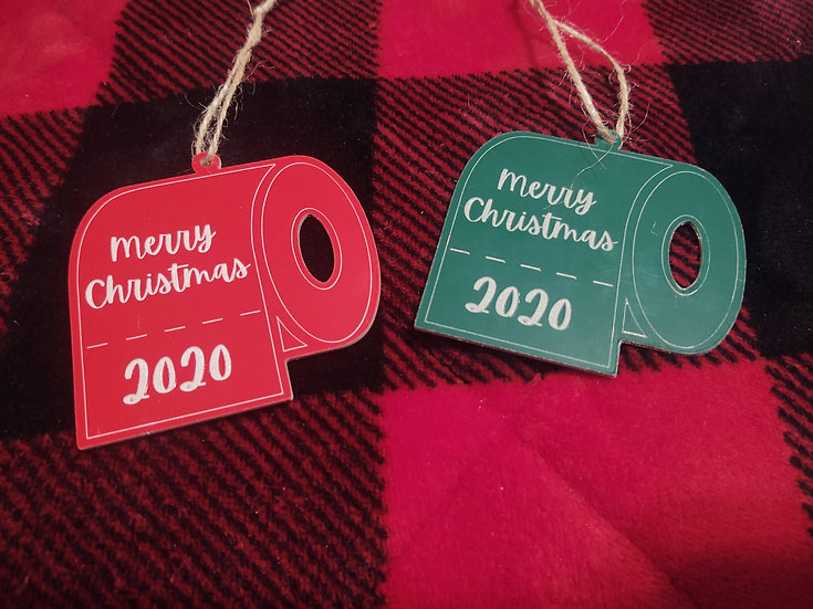 Toilet Paper Merry Christmas 2020