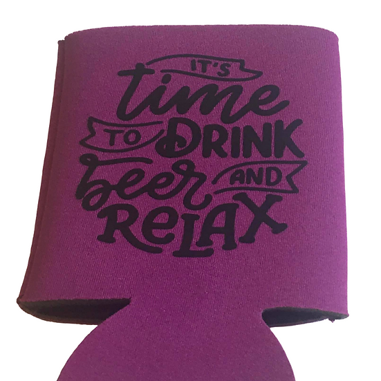 Time to Drink Koozie