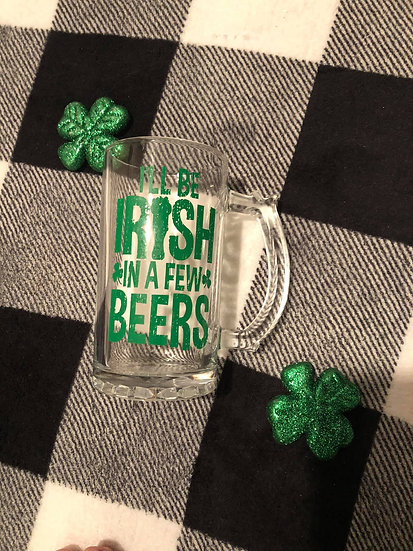 St. Patrick's day Happy hour set - 4 pack with snacks
