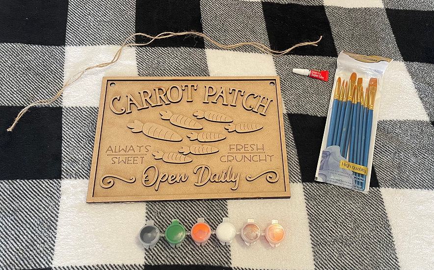 Carrot Patch - DIY fun kit