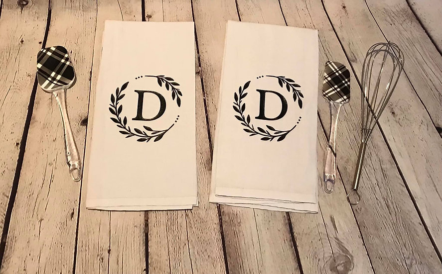 Decorative dish towels - Customizable
