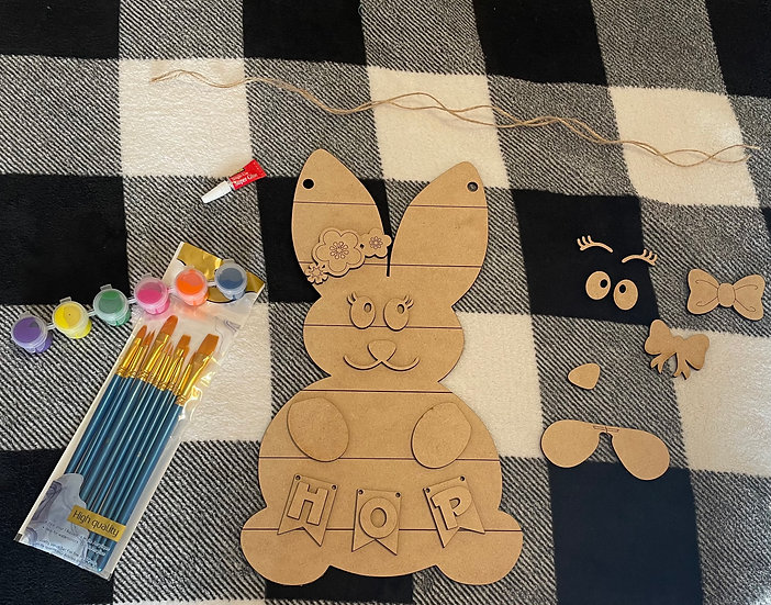 Easter Bunny - DIY fun kit